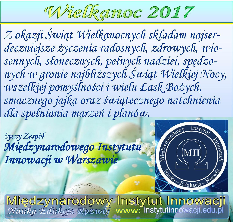 Wielkanoc 2017 - INSTYTUT MII Warszawa